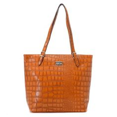 7871d9c8bd Michael Kors Gia Large Slouchy Tote Barley Crocodile-embossed Leather  Fashion Heels