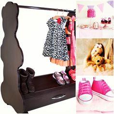 http://www.acebabyfurniture.com/  #Dress up mobile closet#bear#teddy bear#rolling closet#rolling rack#baby room#baby nursery#nursery ideas# #bear themed