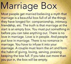 Menikah itu membangun dan menjaga cinta, bukan mengkonsumsi cinta sampai habis