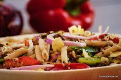 Quinoa and Pasta Salad - Cooking Quinoa