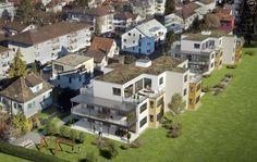 Visualisierungen Architektur: STOMEO Architektur Visualisierung - Zürich Mansions, House Styles, Home Decor, Birds Eye View, Architecture Visualization, Real Estates, Floor Layout, Human Settlement, Decoration Home