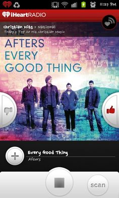 Love The Afters love this band!  The song 'EVERY GOOD THING' is awesome!
