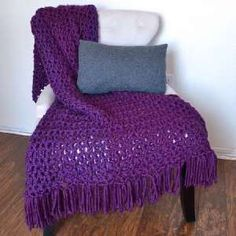 Quick And Warm Crochet Afghan