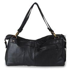Lingot sac (cuir noir)