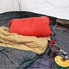 Camping Pillow - massive selection. Must explore...