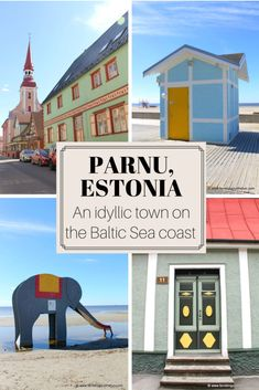 The ultimate guide to including what to do and where to eat. Parnu, Estonia is an idyllic Baltic Sea town featuring pristine beaches, spa resorts, cafes, and quaint architecture worthy of a weekend getaway. Europe Destinations, Europe Travel Tips, European Travel, Travel Advice, Travel Guides, European Trips, Travel Packing, Estonia Travel, Baltic Sea