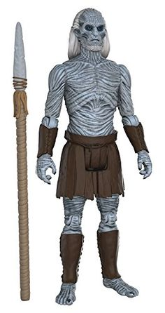 White Walker from Game of Thrones action figure by Funko! Funko's latest figures stand at 3.75' and have five points of articulation! The first wave features Jon Snow Samwell Tarly Ghost Ygritte T...