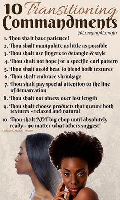 products for transitioning to natural | ... Transition from Relaxed to Natural…