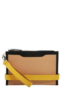 Diese Clutch passt garantiert zu jedem Outfit! Zign Clutch - black/yellow/nude für 39,95 € (06.01.16) versandkostenfrei bei Zalando bestellen.