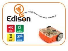 Edison - fun robotics for tomorrow's inventors! (compatible with lego)