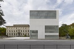 Completed in 2015 in Munich, Germany. Images by Stefan Müller. New construction of the Documentation Center for the History of National Socialism at Königsplatz in Munich. Permanent exhibition, temporary...