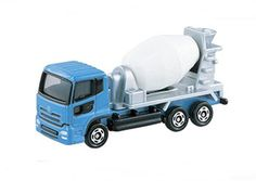 Takara Tomy Tomica #53 Nissan Diesel Quon Mixer Car Diecast Vechicle Toy #Tomica