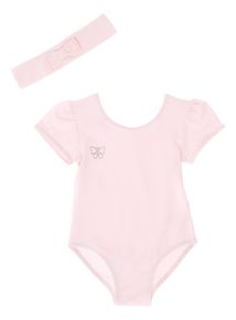 Pink Ballet Leotard (2 - 10 years)