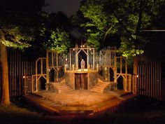 The Winter's Tale. Canadian Stage Company. High Park, Toronto. Scenic design by Denyse Karn. 2011