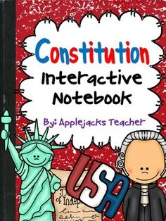 This Interactive Notebook covers the preamble, articles, Bill of Rights, amendments, and checks and balances of the United States Constitution.