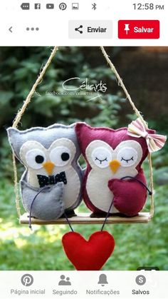 Needle Felted Animals: Chick Series – Armature and Wrapping by Sarafina Fiber Art – Needle Felting Owl Sewing, Sewing Crafts, Sewing Projects, Craft Projects, Felt Owls, Felt Birds, Felt Animals, Owl Crafts, Diy And Crafts