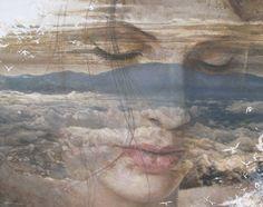 """Muse/3""   190x150cm   Acrylic on canvas"