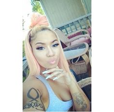 Omggg I really want to dye my hair this color!!!