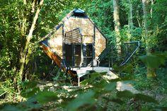 1 | Now Up For Rent: Matali Crassets Bizarro Forest Cabin | Co.Design: business + innovation + design