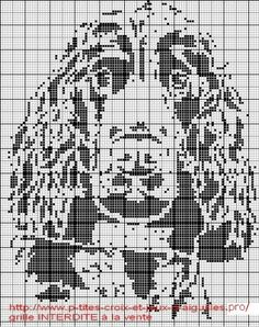chien - dog - cocker - point de croix - cross stitch - Blog : http://broderiemimie44.canalblog.com/