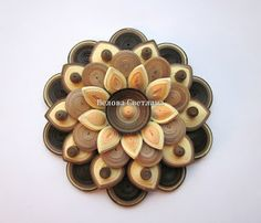 Decorative flower - quilling master-class