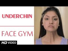 Face Gym - Underchin HD | Asha Bachanni - YouTube Facial Muscle Exercises, Face Yoga Exercises, Facial Muscles, Yoga Facial, Anti Rides Yeux, Face Massage, Jawline, Tips Belleza, Muscle Fitness