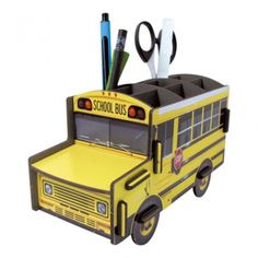 Werkhaus Shop - Schoolbus Stiftebox