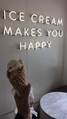 Ice cream makes you happy Molly moons Ice cream makes you happy Molly moons selber machen ice cream cream cream cake cream design cream desserts cream recipes Ice Cream Logo, Ice Cream Art, Ice Cream Design, Coffee Ice Cream, Ice Cream Parlor, Ice Cream Shops, Parlour Design, Ice Cream Quotes, Ice Cream Business
