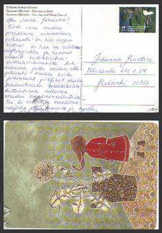 Juuret-projektin ytimessä: Postikortteilu