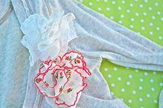 ~Ruffles And Stuff~: Handkerchief Rosette How-To!