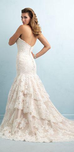 Allure Bridals Spring 2015 wedding dress
