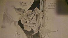 Tu eres la rosa mas hermosa del jardin de mi corazon.