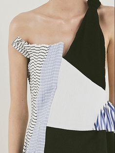 »Graphic dress with contrasting panels; contemporary fashion details // J.W. Anderson Resort 2015« #fashionismypassion
