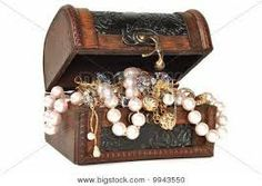 Treasure chest with jewelry. Wooden chest full of gold jewelry, isolated on white. Platinum Jewelry, Gold Jewelry, Free Photographs, Electronic Items, Wooden Chest, Paparazzi Jewelry, Treasure Chest, Royalty Free Photos, Digital Illustration