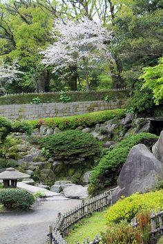 Sengan-en, Kagoshima, Japan