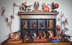 PA Traditional Folk Art Carvings Shows Craftsman, Folk Art, Wood Carvings, Traditional, June, Events, Home Decor, Artisan