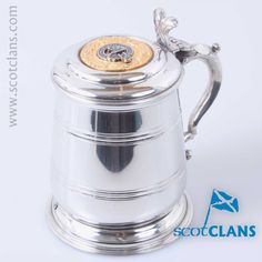 MacGregor Clan Crest Tankard. Free worldwide shipping available.