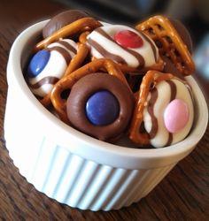 Sweet Snaps #Pretzels #Chocolate #Yum
