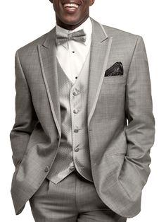 View our tuxedos for special occasions & events. Available in a variety of looks: gray tuxedos, classic tuxedos, modern & more. Rent a Tuxedo at Moores Clothing. Prom Tux, Groom Wedding Dress, Tuxedo Wedding, Wedding Wear, Wedding Suits, Wedding Tuxedos, Tux Colors, Mens Tux, Tuxedo For Men
