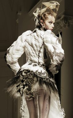 Jean Paul Gaultier  Repinned by www.fashion.net