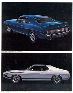 1972 AMC Javelin - My first car!  White, half black top, gold stripe.  I didn't know what I had!  :-)
