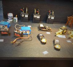 Truly Scrumptious and this incredible miniature electricals