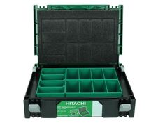 Case door fittings organiser with 10 rooms removable Hitachi Stackable