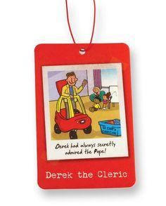 Derek the Cleric - Air Freshener