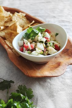 Simple cod ceviche recipe from almost makes perfect