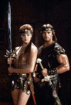 Arnold Schwarzenegger  Brigitte Nielsen, 1985