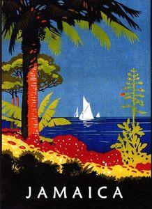 Jamaica Travel Poster