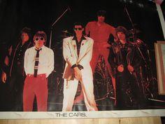 "Vintage 1970's ""The Cars"" Band Music Concert Photo Poster Rick Okasek | eBay"
