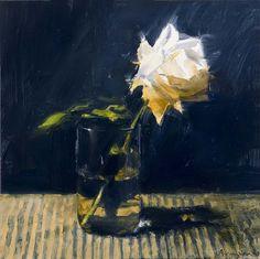 flower in glass, 2008, Ben Aronson