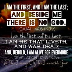 Jesus Is The First And The Last